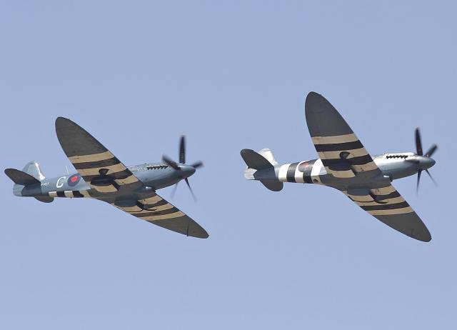 二战英军:喷火式战斗机(2)