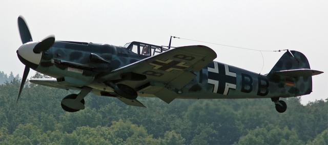 二战德国空军:bf 109 战斗机