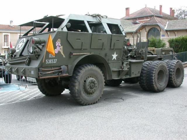 美军的m-26龙式拖车结构图