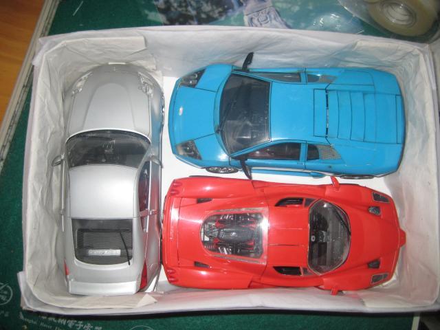 diy废物利用自制汽车模型收纳箱(贴图重发)